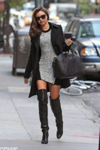 Footwear, Boots, Ankle boots, knee length boots, patent leather, accessories, skirt, ripped denim, coats